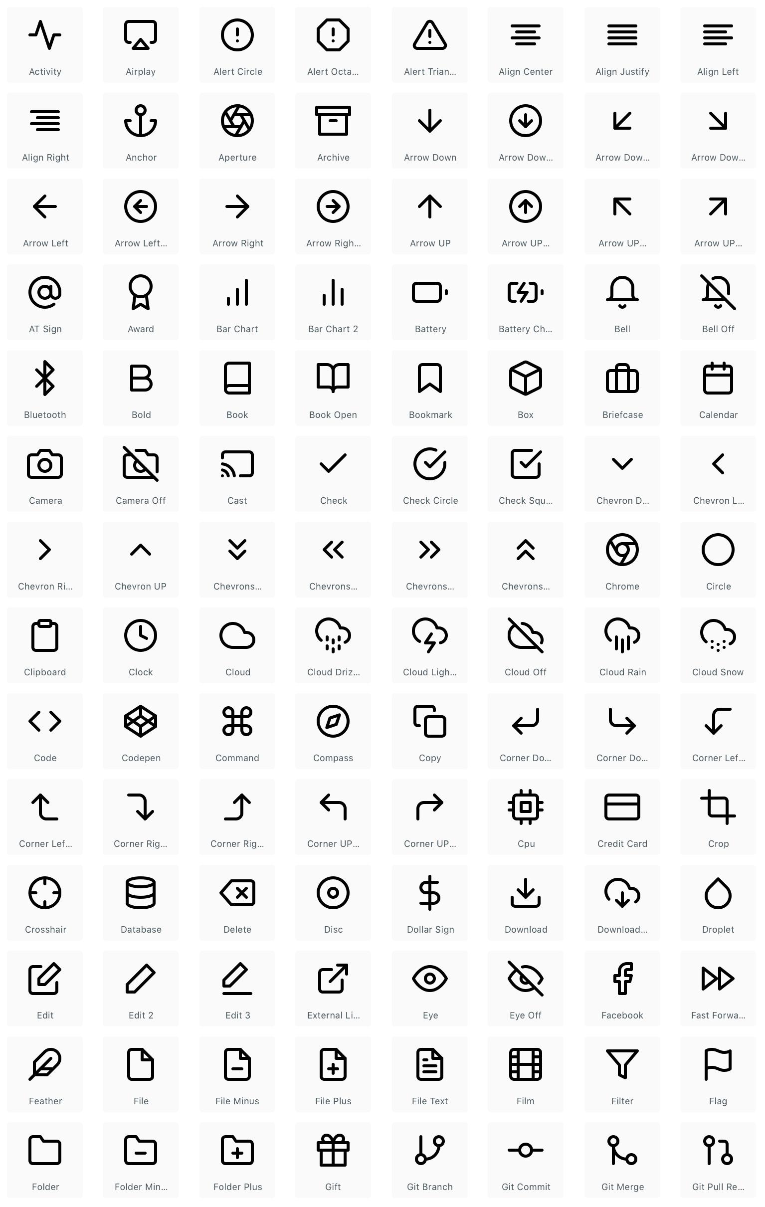 Best Free & Premium Icon Sets for UI Designers - FreeUI